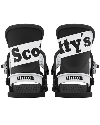 UNION SCOTT STEVENS SCOTTYS LIMITED EDITION CONTACT PRO 2021 SNOWBOARD BINDINGS