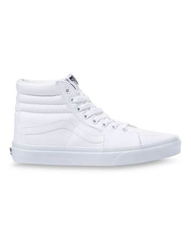 CANVAS SK8-HI TRUE WHITE