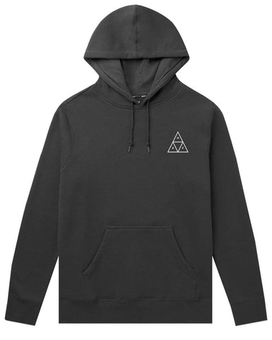 ESSENTIALS TRIPLE TRIANGLE PULLOVER HOODIE BLACK