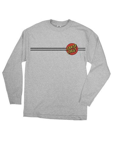 CLASSIC DOT LS ATHLETIC HEATHER