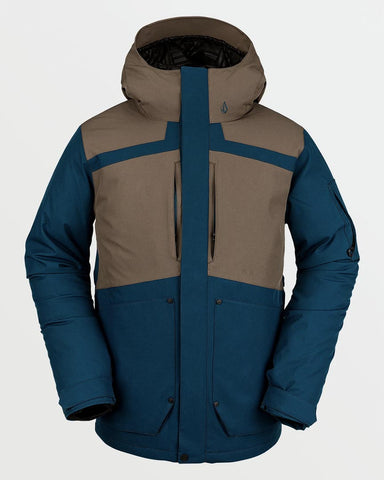 SCORTCH INSULATED JACKET - BLUE