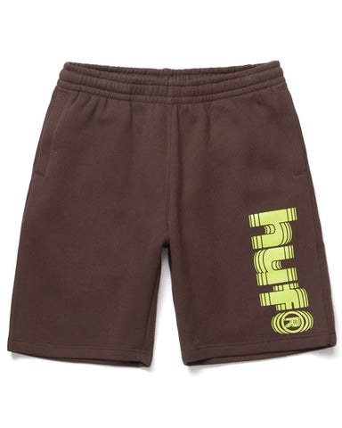 SHAKE FLEECE SHORT DEEP MAHOGANY
