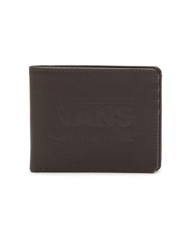 LOGO WALLET DARK BROWN