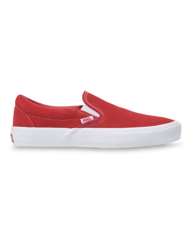 SLIP-ON PRO SUEDE RED