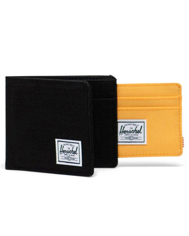 ANDY WALLET BLACK RIPSTOP / BLAZING ORANGE