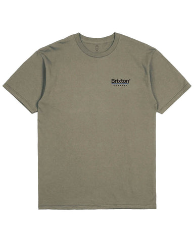 PALMER LINE S / S TEE MILITARY OLIVE