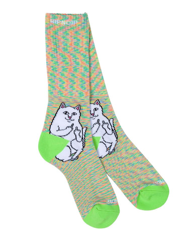 LORD NERMAL SOCKS MINT SPECKLE