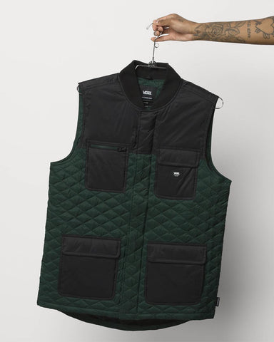 Drill Chore Vest Thermoball Mte-1 - Scarab / Black