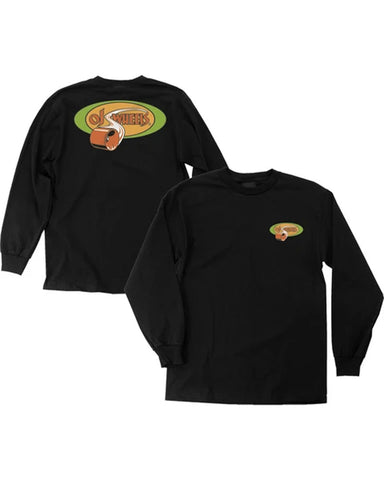 HOT JUICE L / S TEE BLACK