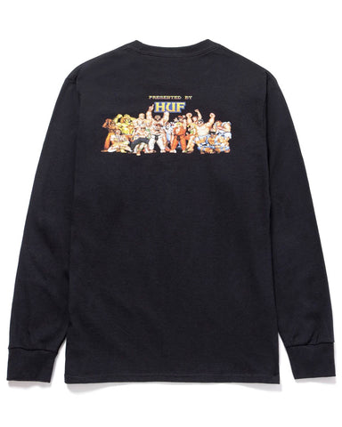 ENDING LONG SLEEVE T-SHIRT BLACK