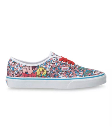 VANS X WHERE'S WALDO? AUTHENTIC-LAND OF WALDOS