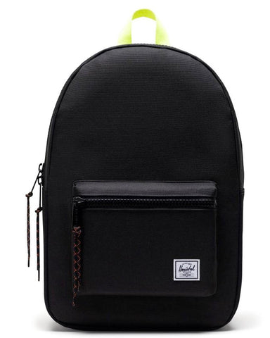 SETTLEMENT BACKPACK BLACK / SAFETY YELLOW