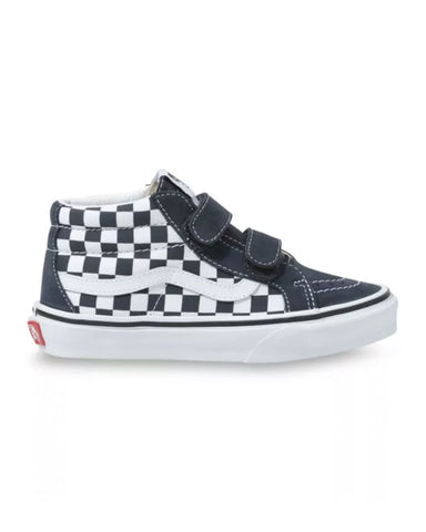 Y SK8-MID REISSUE V CHECKERBOARD INDIA INK/TRUE WHITE