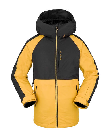 Kids Holbeck Insulated Jacket -Resin Gold 2022