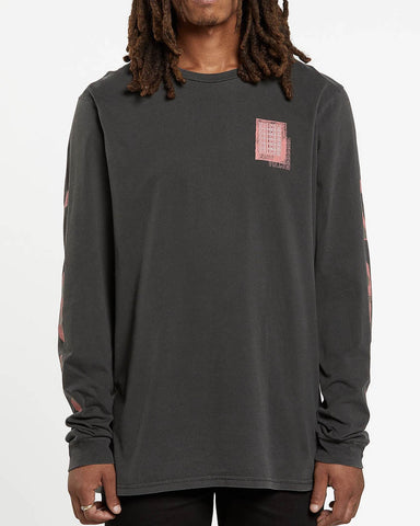 CONCUSSION LONG SLEEVE TEE - BLACK