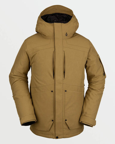 SCORTCH INSULATED JACKET -NEW BURT KHAKI