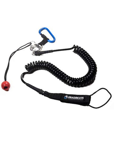 COIL LEASH WITH Q / RELEASE