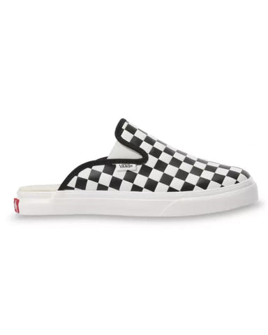 MULE SF LEATHER CHECKERBOARD