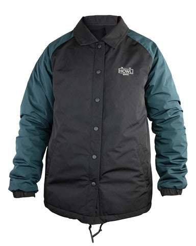 PREMIUM COACHES JACKET BLACK
