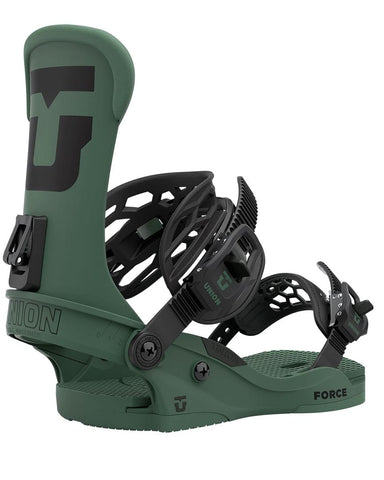UNION FORCE FOREST GREEN 2021 SNOWBOARD BINDINGS