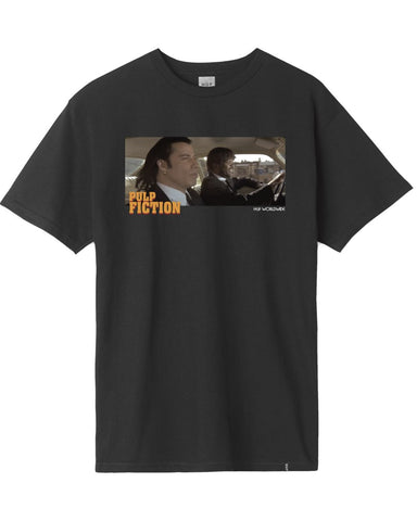 PULP FICTION ROYALE WITH CHEESE T-SHIRT BLACK