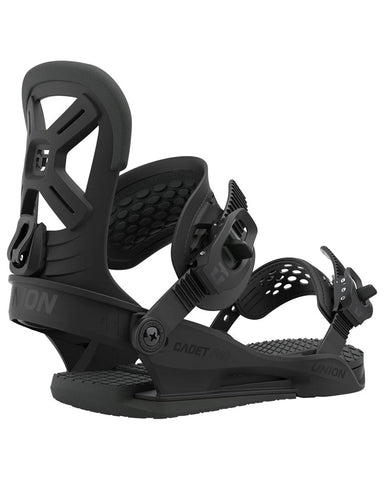 Union CADET PRO BLACK 2021 youth snowboard bindings