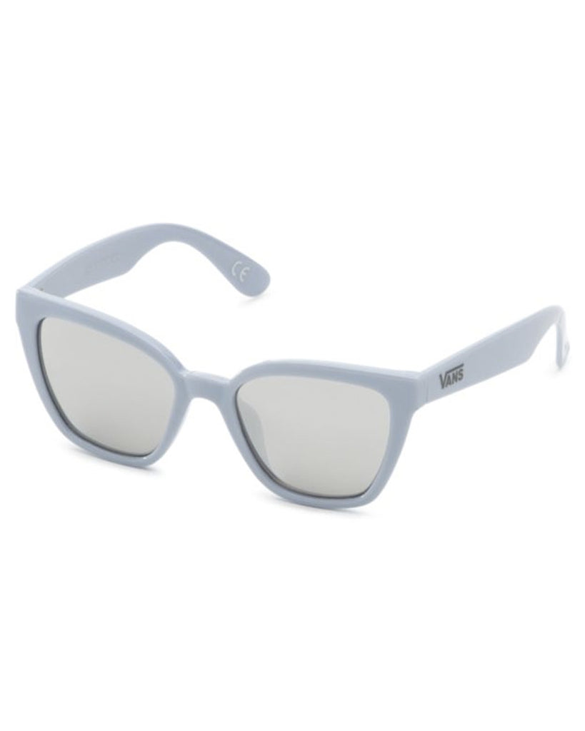 Lunettes soleil VANS HIP CAT SUNGLASSES ZEN BLUE/SILVER MIRROR LENS