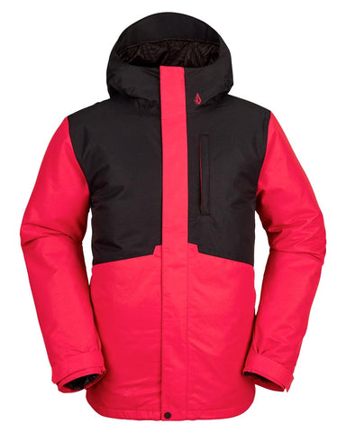 Mens 17 Forty Ins Jacket Red Combo 2022