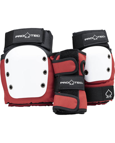 JR. STREET GEAR 3-PACK - OPEN BACK - RED WHITE BLACK