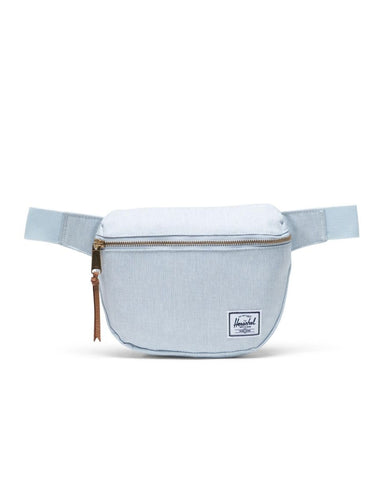 FIFTEEEN HIP PACK BALLAD BLUE PASTEL CROSSHATCH