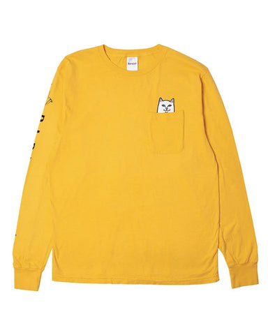 LORD NERMAL POCKET L / S GOLD