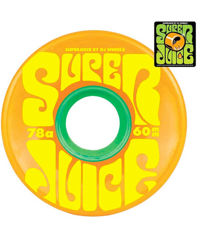 SUPER JUICE CITRUS 78A 60MM