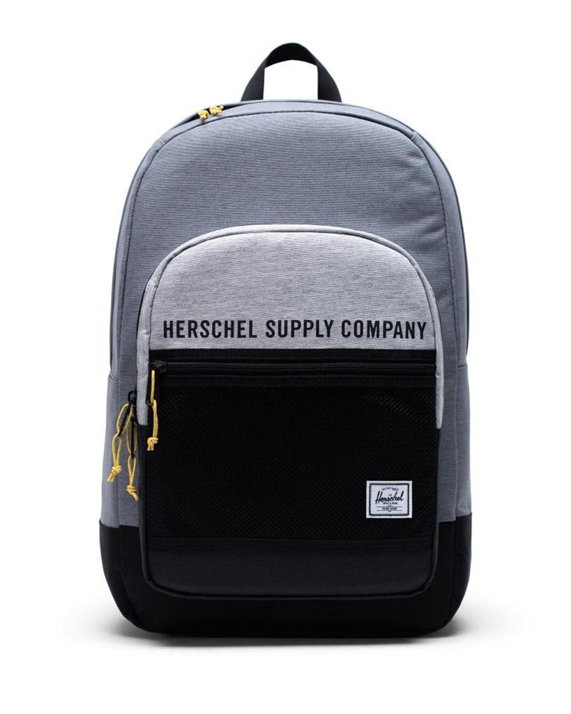 Sac à dos HERSCHEL KAINE POLY/MESH MID GREY X / LIGHT GREY X / BLACK