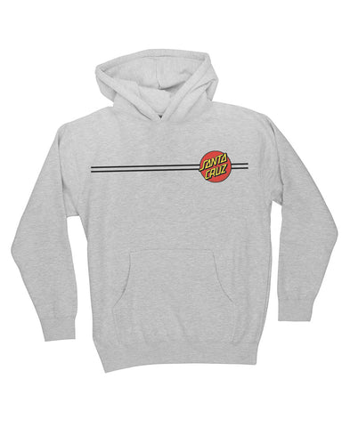CLASSIC DOT HOODIE GRAY HEATHER