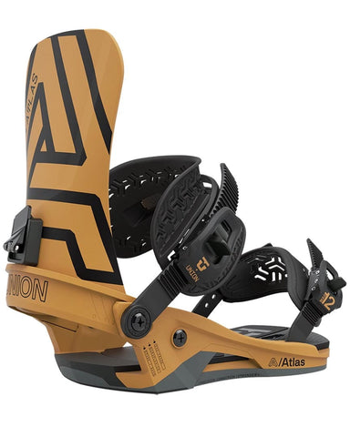 UNION ATLAS MUSTARD YELLOW 2021 SNOWBOARD BINDINGS