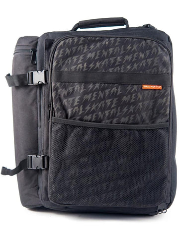 BACKPACK MESSENGER BLACK