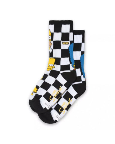 BOYS THE SIMPSONS X VANS CREW SOCK(1PK)