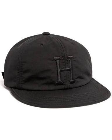 FORMLESS CLASSIC H 6-PANEL HAT BLACK