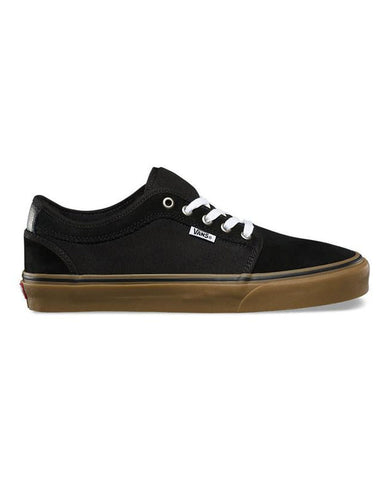 CHUKKA LOW BLACK/BLACK/GUM