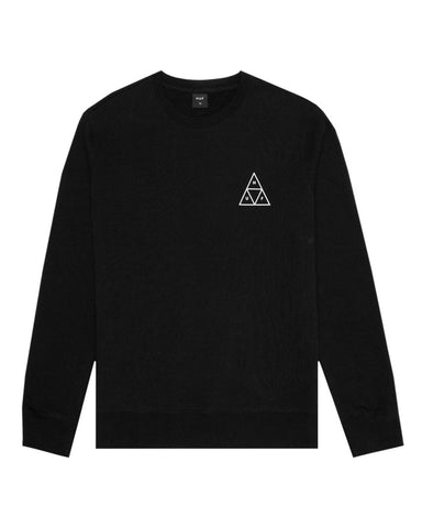 TRIPLE TRIANGLE CREWNECK SWEATSHIRT BLACK