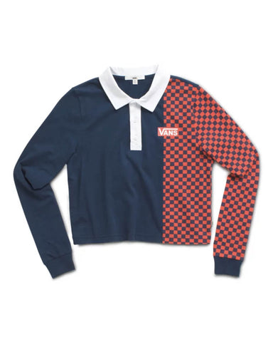 PRO STICHED POLO TOP DRESS BLUES