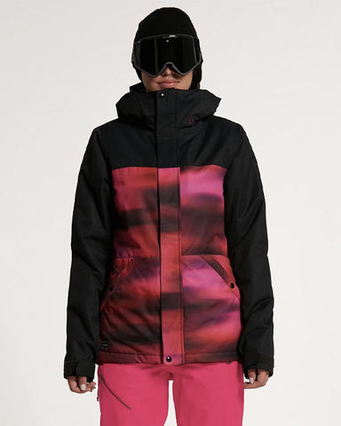 WOMENS BOLT INSULATED JACKET - BRIGHT PINK