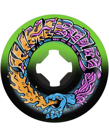 GREETINGS SPEED BALLS GREEN/BLACK 99A 56MM