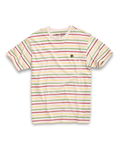 Tyson Peterson Stripped Off The Wall Classic Tee - White