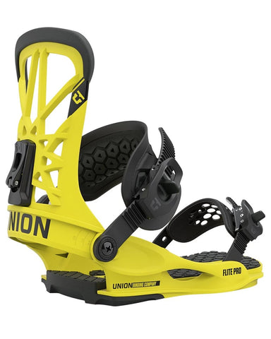 union FLITE PRO HAZARD YELLOW 2021 snowboard bindings