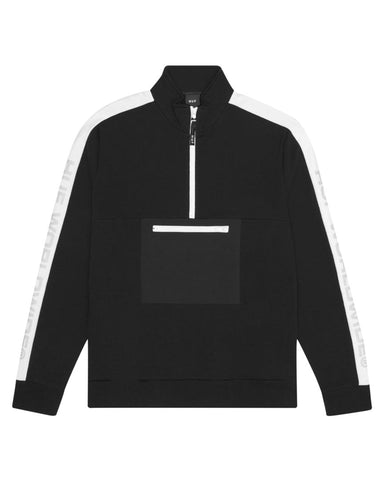 TRIBECA QUARTER-ZIP FLEECE BLACK