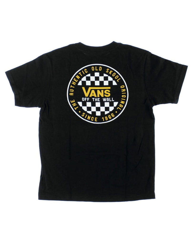 T-shirt VANS BOYS OG CHECKER T-SHIRT BLACK