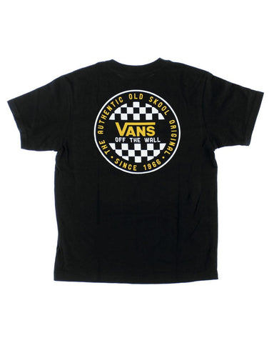 BOYS OG CHECKER T-SHIRT BLACK