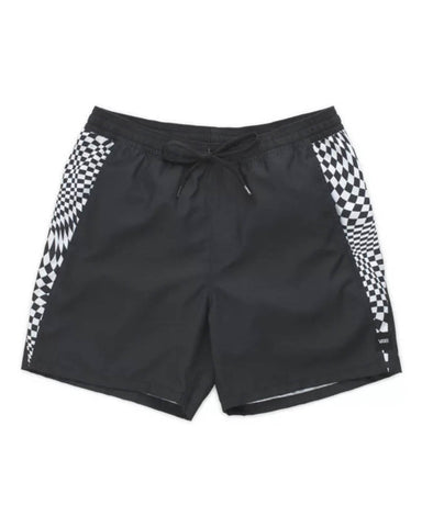 "V-PANEL VOLLEY 17"" SHORT BLACK"