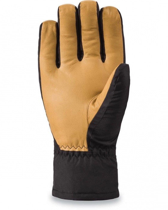 DAKINE -NOVA SHORT GLOVE BLACK/TAN  - 2